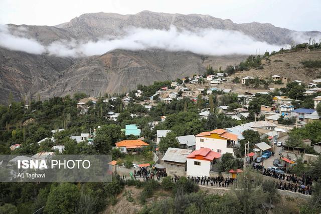 روستایی در میان جنگل های بزرگترین پارک خاورمیانه