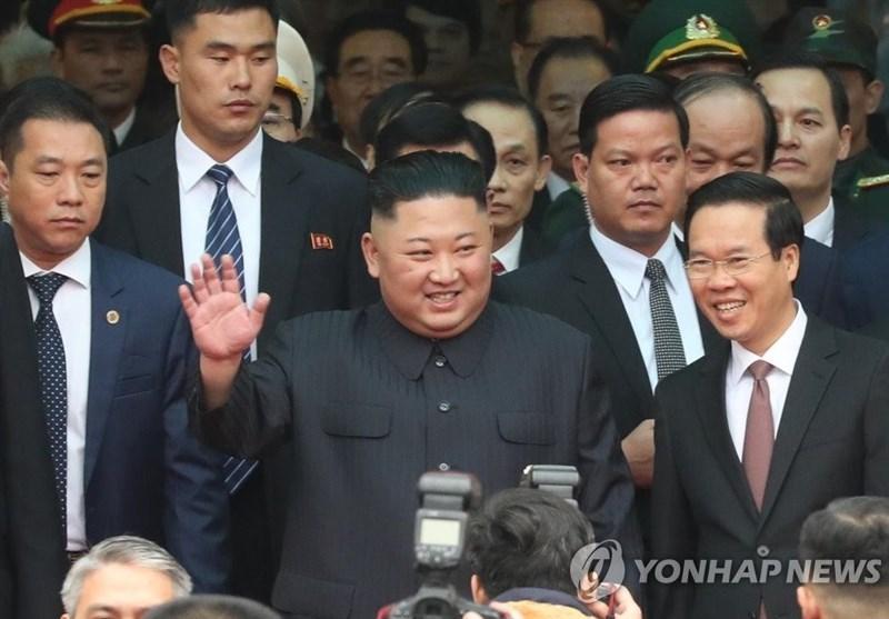 ورود رهبر کره شمالی با مرسدس ضدگلوله به هتل ملینا