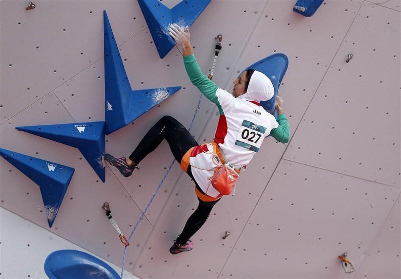 صعود رکابی به فینال مسابقات سنگنوردی آزاد چین