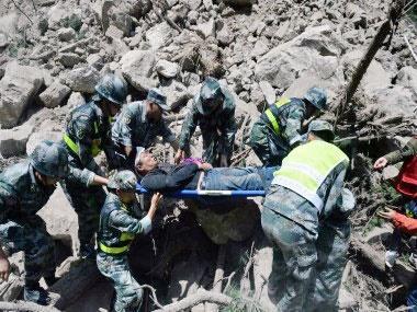 زمین لرزه 7 ریشتری در ایالت سیچوان چین