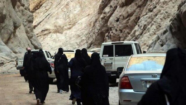نخستین سفر گردشگری زنان سعودی