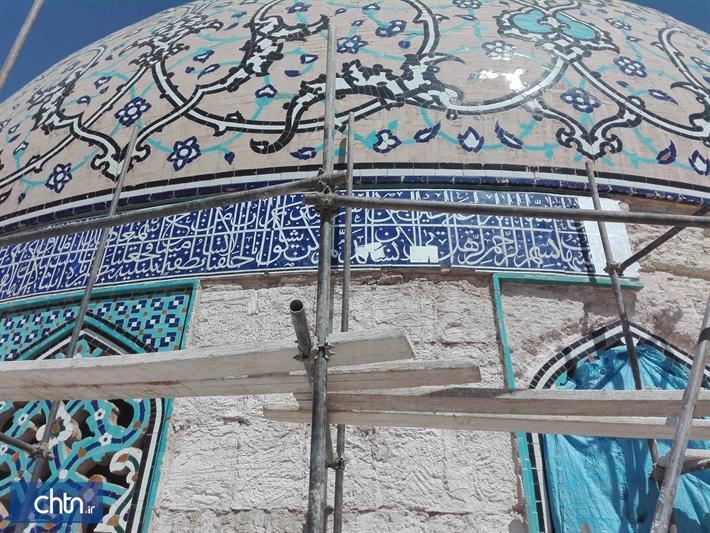 مرمت گنبد مسجد شیخ لطف الله با نظارت متخصصان انجام می گردد