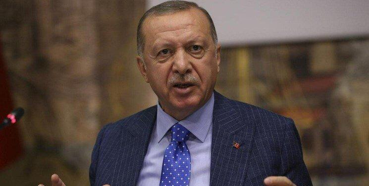 اردوغان تهدید کرد: اگر کردها از منطقه نروند حمله ادامه خواهد داشت