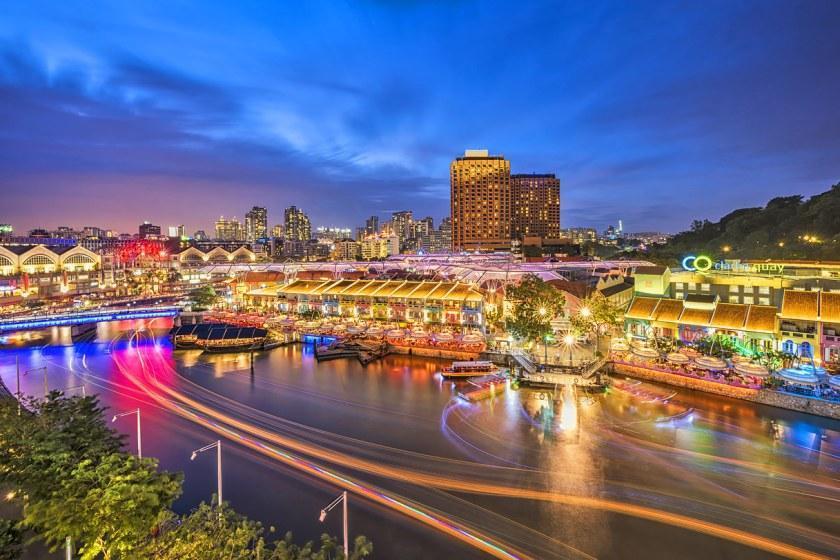 صفر تا صد خرید در اسکله کلارک، سنگاپور