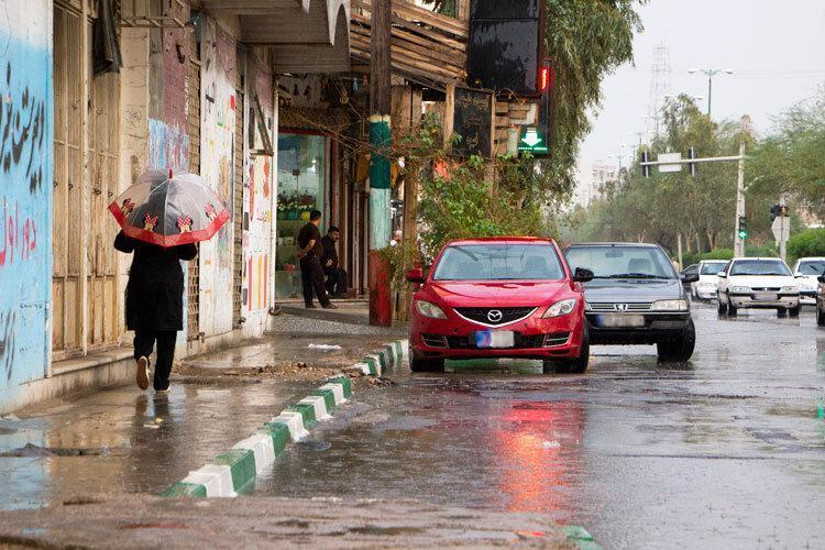 هشدار هواشناسی نسبت به تشدید بارش ها ، استان هایی که بارش شدید دارند