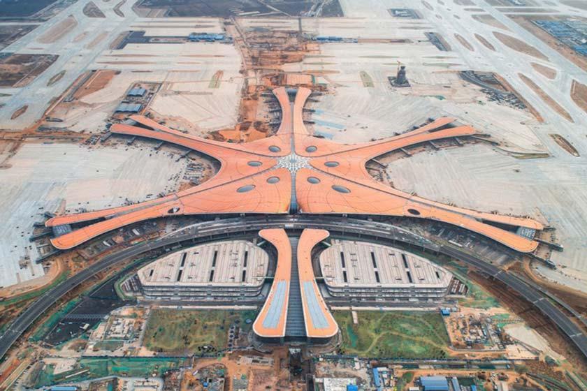نگاهی به فرودگاه در حال ساخت داکسینگ پکن، بزرگترین فرودگاه دنیا