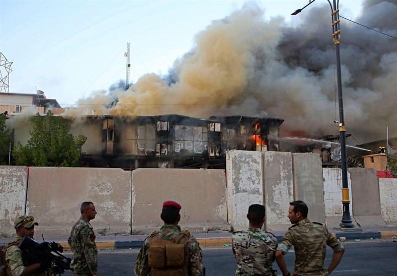عراق، تاکید فرماندهی بصره بر برخورد قاطع با اخلالگران، اقدام عمدی عناصر نفوذی در تخریب پل مهمی در مرکز بغداد