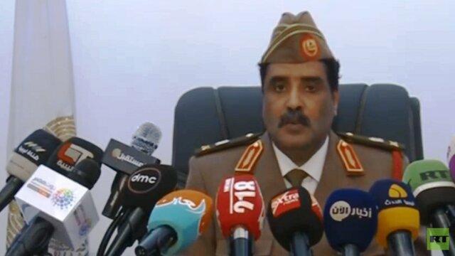 نیروهای خلیفه حفتر: از سرت تا مرزهای تونس تحت کنترل نیروی هوایی ما است