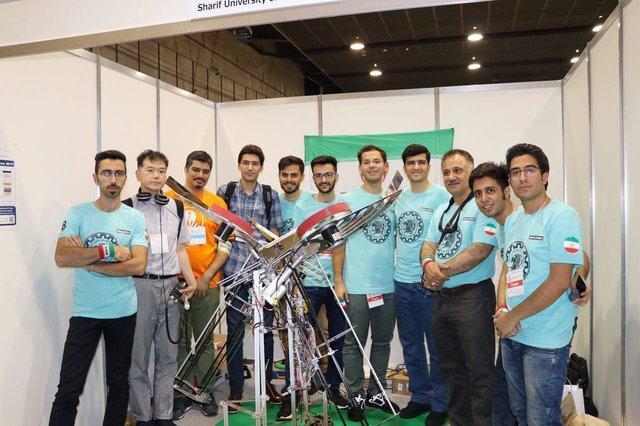 حضور تیم دانشگاه شریف در مسابقات بین المللی ربات پرتاب دیسک