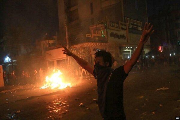 اعلام ممنوعیت آمد و شد در شهر نجف عراق ، ادعای یورش معترضان به کنسولگری ایران