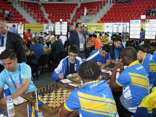 5 پیروزی، 2 تساوی و یک شکست برای شطرنج بازان ایرانی