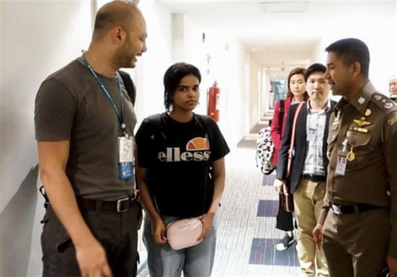 دختر خبرساز عربستانی اجازه ورود به تایلند دریافت کرد