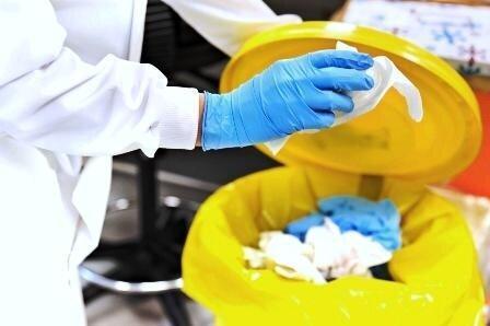 شیوه امحا زباله های کرونایی بیمارستان ها ، آهک پاشی چند مرحله ای