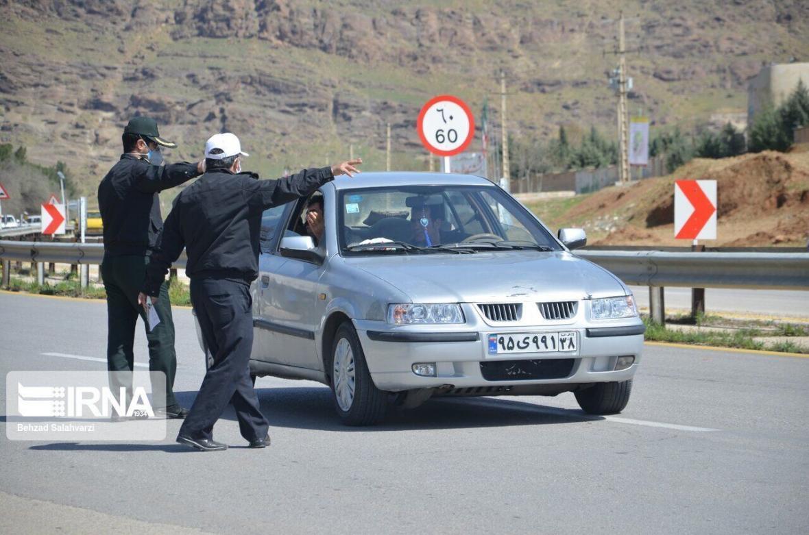 خبرنگاران بیش از 1100 خودرو متخلف در کرمانشاه اعمال قانون شدند