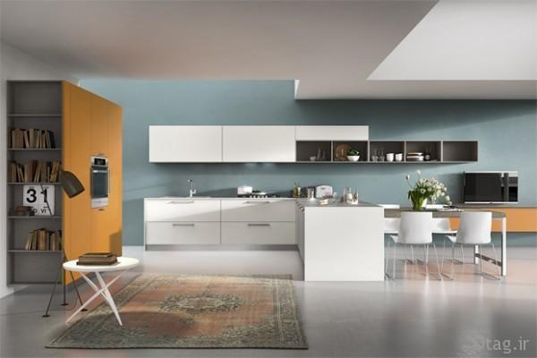 انواع دکوراسیون آشپزخانه و مدل های طراحی داخلی و چیدمان متفاوت