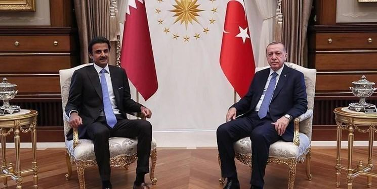 گفت وگوی تلفنی رئیس جمهور ترکیه و امیر قطر