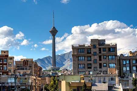 دما و کیفیت هوای تهران در روز جاری