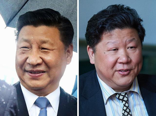 بلایی که سر بدل رئیس جمهور چین آمد!، عکس