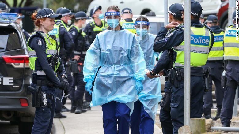 6 میلیون نفر در استرالیا قرنطینه شدند