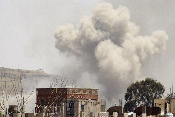 حملات موشکی و توپخانه ای گسترده متجاوزان سعودی به الحدیده یمن
