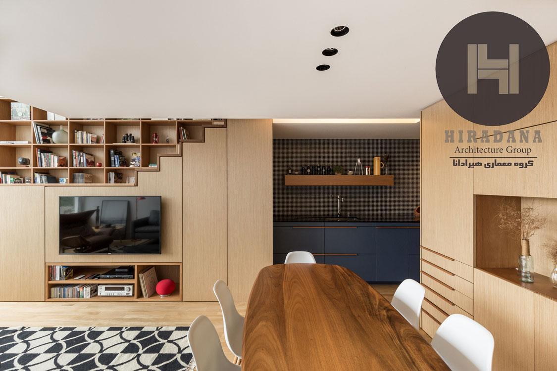 بازسازی و طراحی داخلی خانه و آپارتمان F B