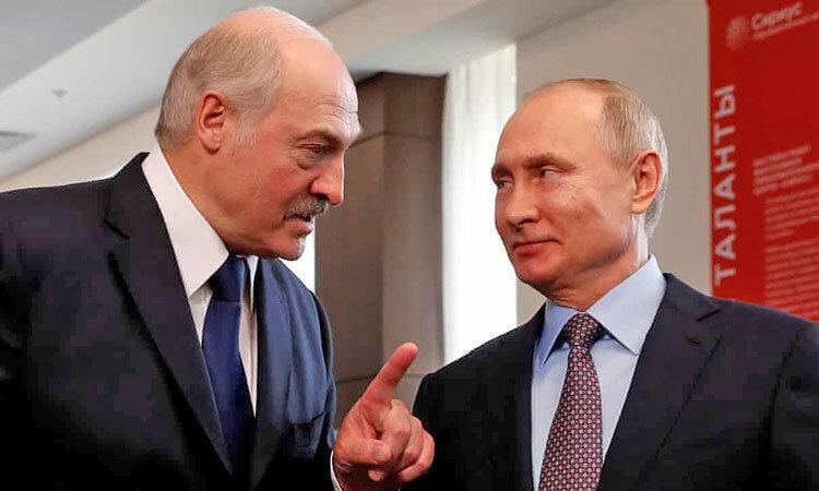 حمایت تمام قد پوتین از لوکاشنکو ، روسیه آماده دخالت نظامی در بلاروس است