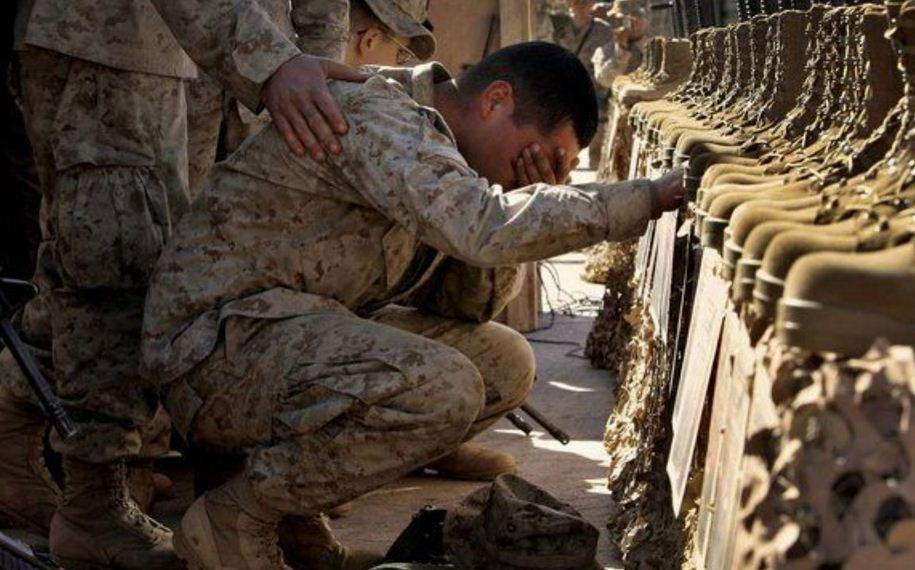 رشد 20 درصدی خودکشی در نظامیان آمریکایی