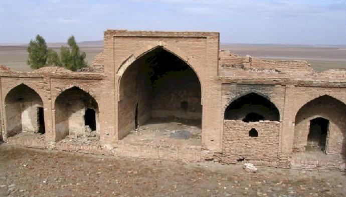 بازسازی کاروانسرای شور در خراسان جنوبی