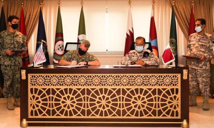 خبرنگاران قرارداد جدید نظامی قطر و آمریکا