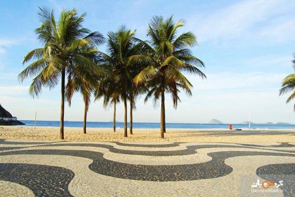 ساحل کوپاکابانا، گردشگاهی بی نظیر در ریو، عکس