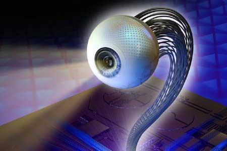 ساخت چشم مصنوعی بسیار بهتر از چشم واقعی