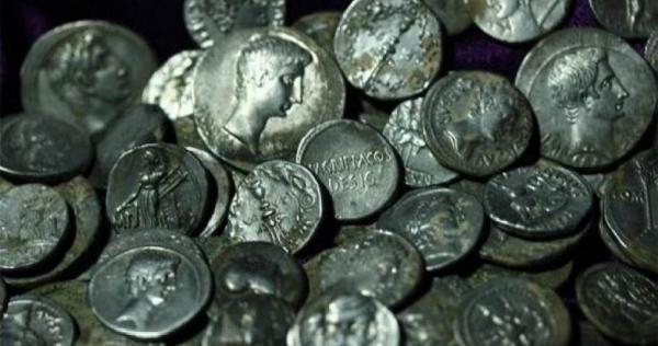 کوزه ای پر از سکه های تاریخی نادر در ترکیه کشف شد