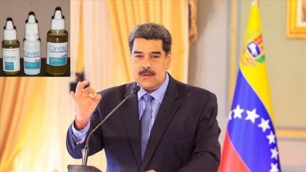 مادورو: فراوری داروی ضد کرونا در ونزوئلا همزمان با تهیه واکسن شروع شد