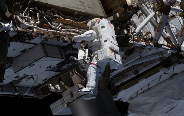 باتری ایستگاه فضایی بین المللی در راهپیمایی فضایی تازه ناسا به روز شد