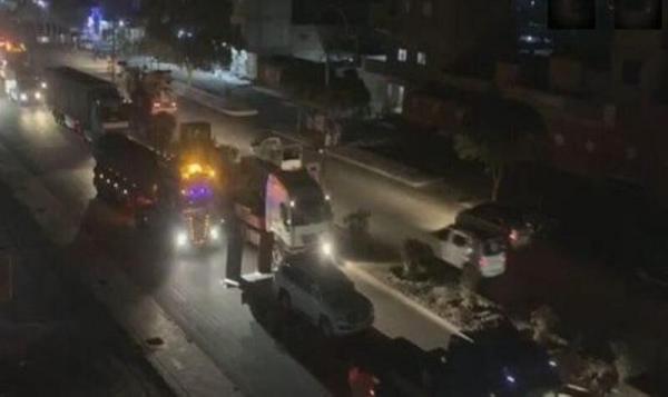 50 کامیون حامل تجهیزات نظامی آمریکا وارد خاک سوریه شد
