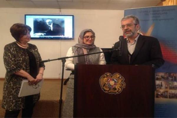 تقدیر از رایزنی فرهنگی ایران در ارمنستان در روز ملی اهدای کتاب