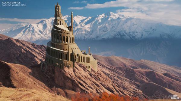 بازسازی دیجیتال قلعه الموت ایران و 5 قلعه دیگر مشهور آسیا