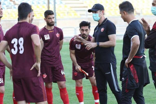 آخرین توصیه های کادرفنی پرسپولیس قبل از بازی با الوحده امارات