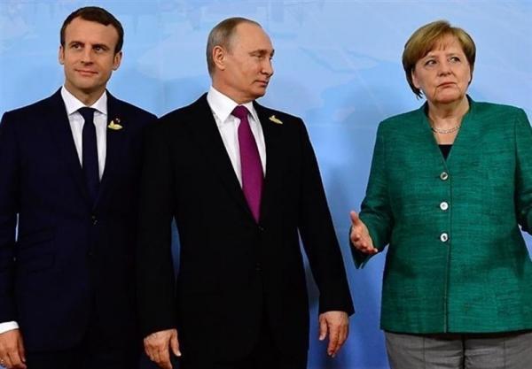 گفت وگوی پوتین، مرکل و ماکرون درباره اوکراین، ایران و سوریه