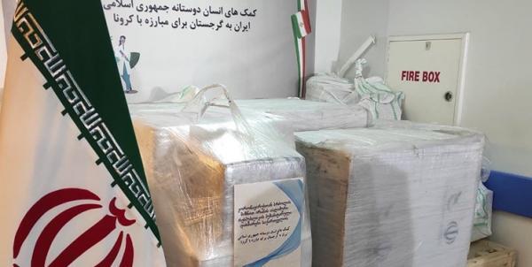 یاری های بشردوستانه ایران به گرجستان برای مبارزه با کرونا