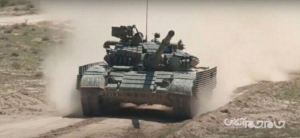 ارتقای تانک های ازبکستان به استاندارد MV