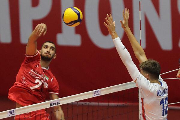 پیروزی مقتدرانه تیم والیبال نوجوانان ایران برابر جمهوری چک